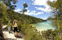 Walkng the Abel Tasman Track, New Zealand