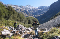 Walking in Arthurs Pass, Canterbury