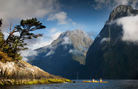 Kayaking in the South Island, Adventure Tour, New Zealand