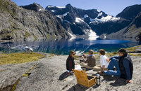 New Zealand Helicopter Picnic